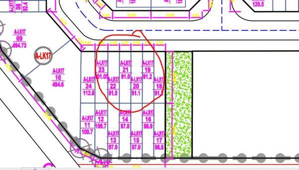 sơ đồ nền đất ALK17-20 V Green City