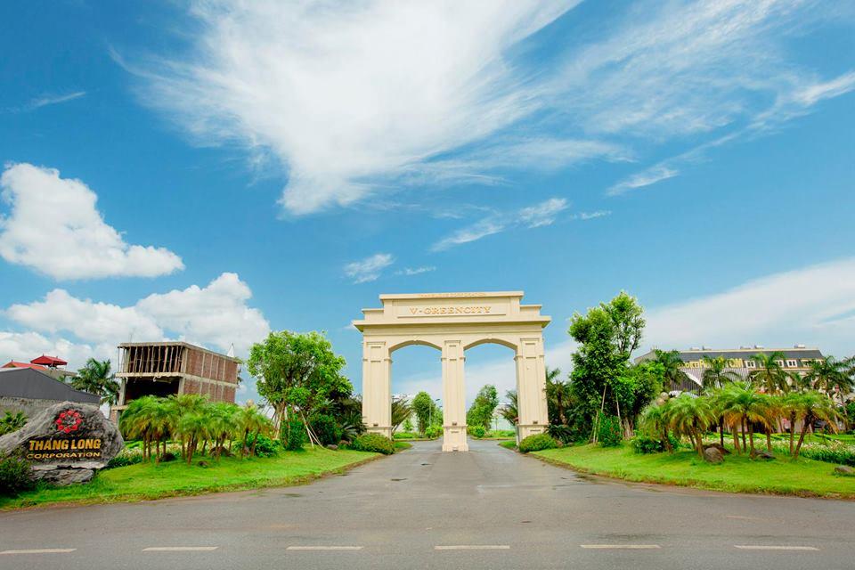 cổng dự án V Green City